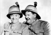 Dick und Doof: Wir sind vom schottischen Infanterie-Regiment
